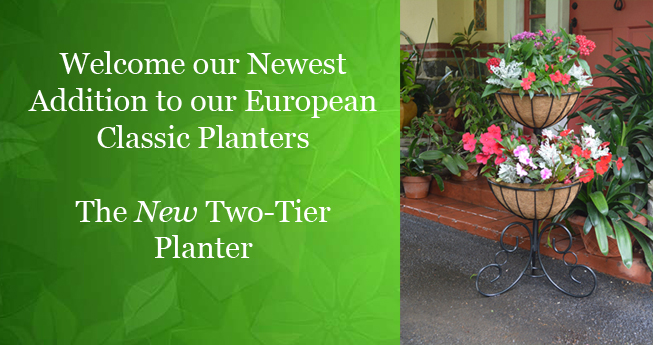 New Two-Tier Planter