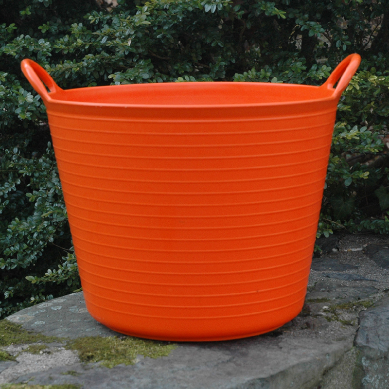 CS/5 SMALL ORANGE TRUG TUB