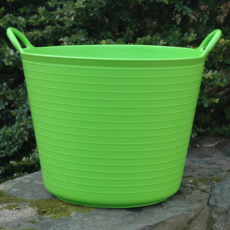 CS/5 SMALL LIME GREEN TRUG TUB