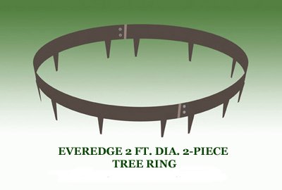 EVEREDGE 2 FT. DIA. 2-PIECE TREE RING