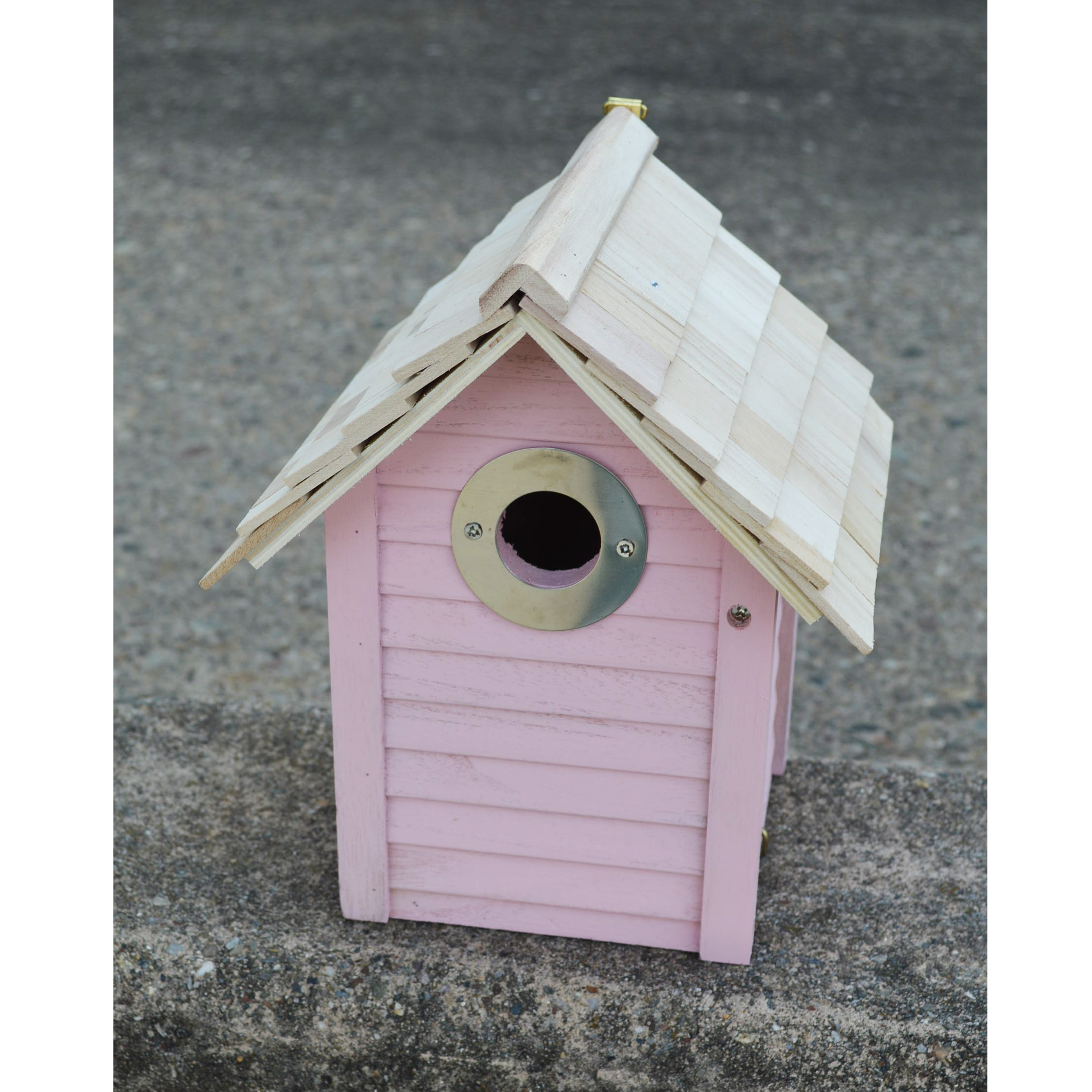 CS/3 - BEACH HUT BIRDHOUSE-PINK