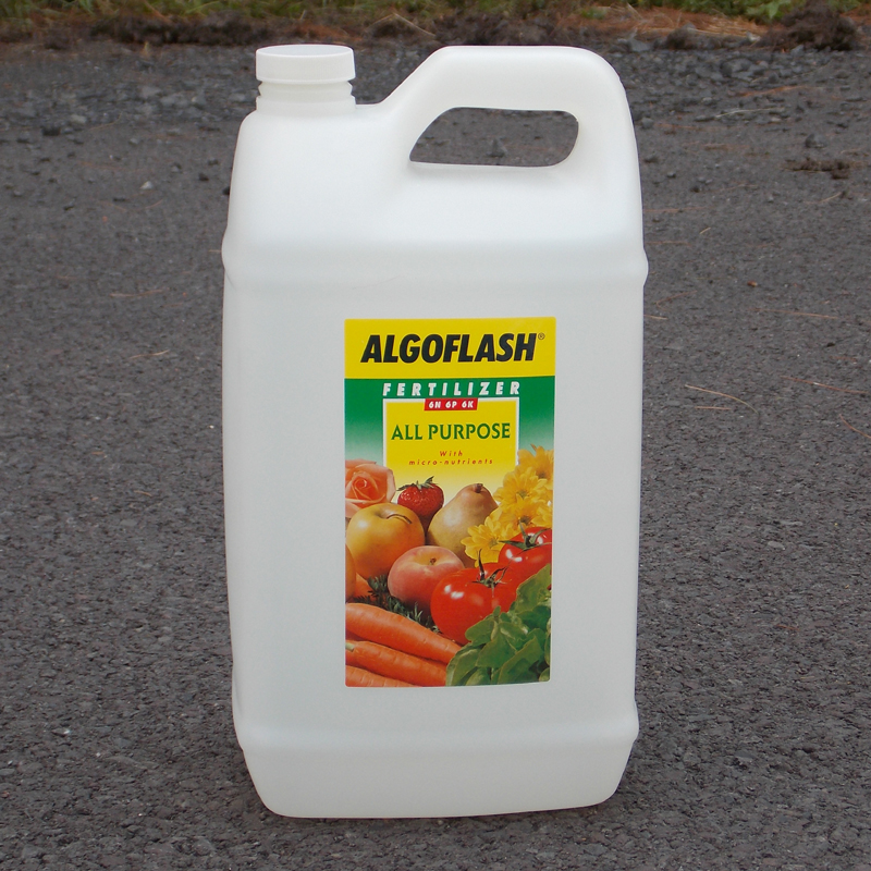 CS/4  (ALGO) 5 LITER BOTTLES ALL PURPOSE FERTILIZER