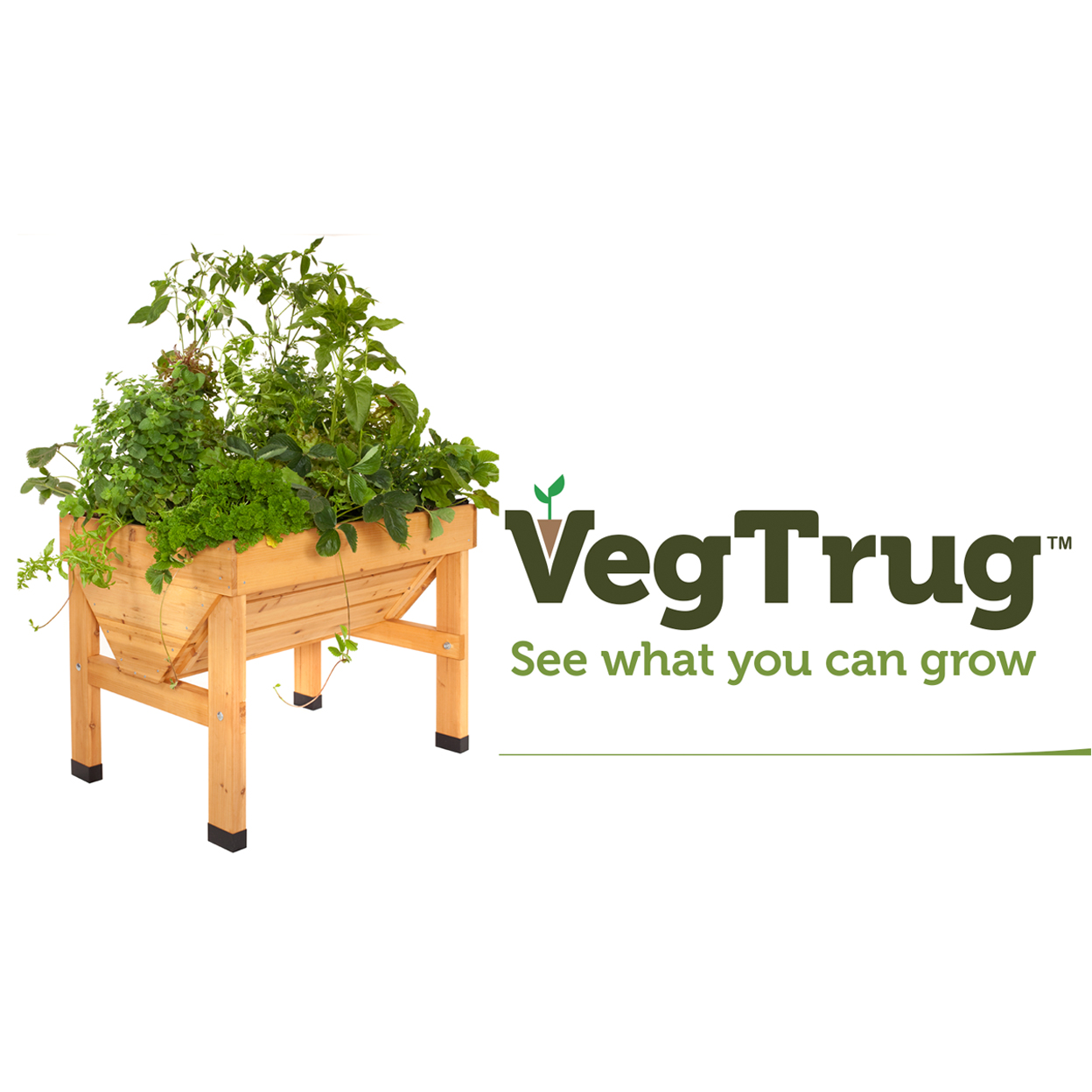 MIXED PALLET OF SMALL & MEDIUM VEGTRUGS (8 Sm. & 6 Med.)