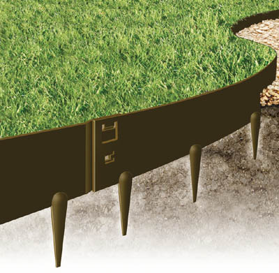 EverEdge Heavy Duty Lawn Edging - 2.5 mm thick