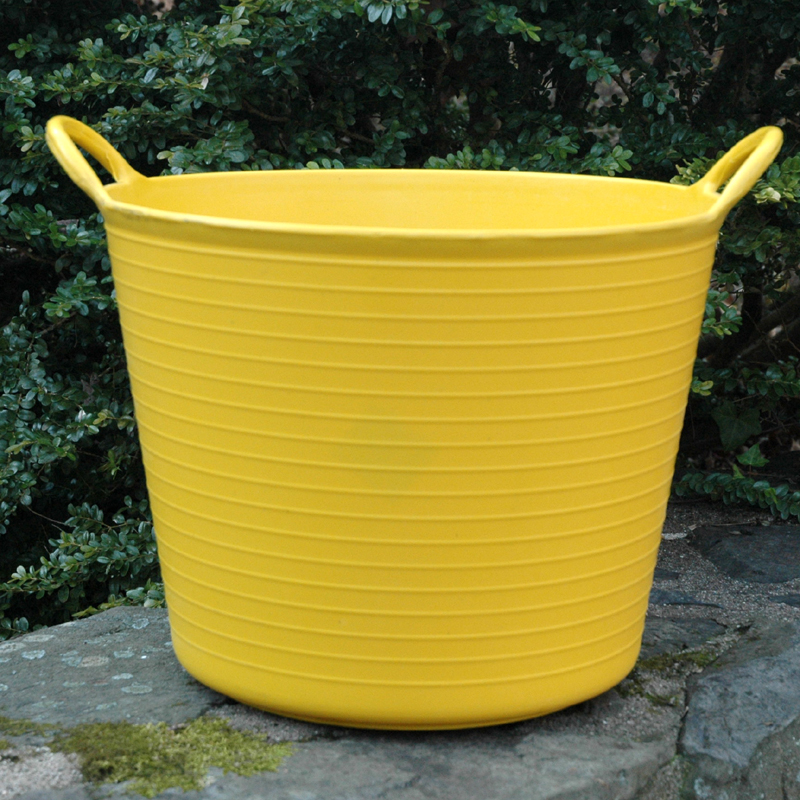 CS/5 SMALL YELLOW TRUG TUB