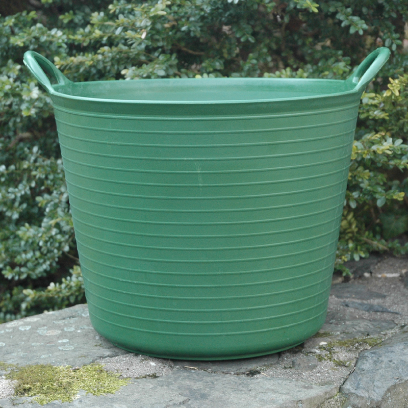 CS/5 SMALL GREEN TRUG TUB